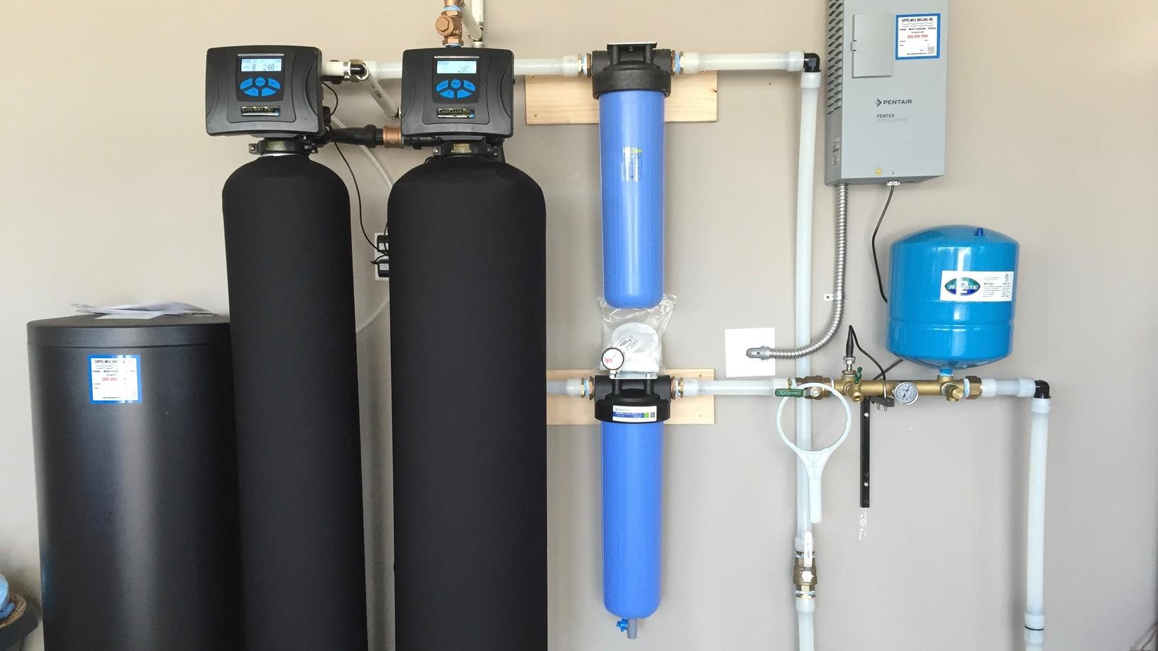 What are water filtering and filtration are necessary?